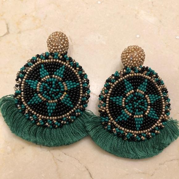 Anthro statement earrings